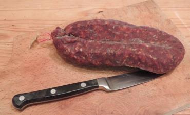 Chorizo de bœuf (Doux ou Fort) 26€/kg